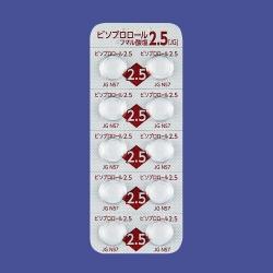 ビソプロロールフマル酸塩錠2.5mg「JG」 500錠 (日本ジェネリック ...